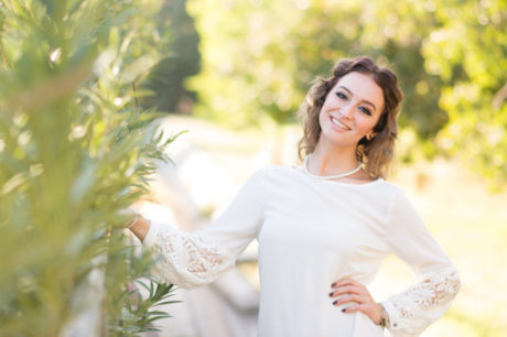 High school senior girl photographed by Jubilee Family Photography in Gilbert, AZ.