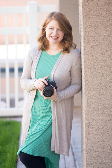 Photographer Melissa Maxwell of Jubilee Family Photography in Gilbert, AZ.