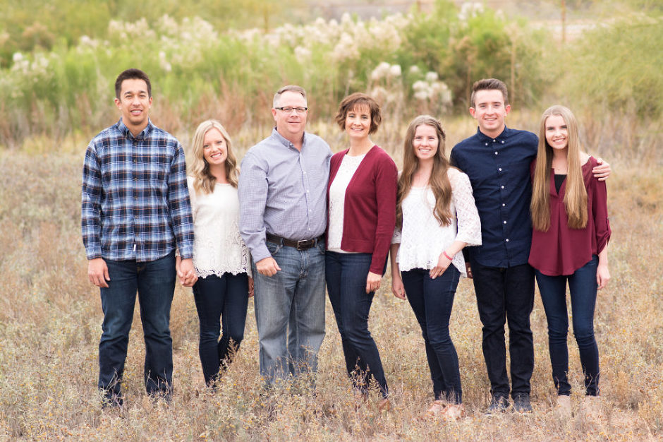 Family Photographed by Jubilee Family Photography in Gilbert, AZ.