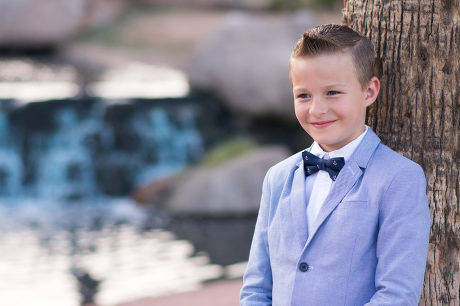 Boy photographed by Jubilee Family Photography.